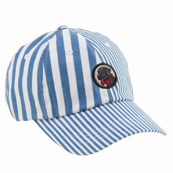 Frat Hat: Patchwork Blue